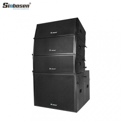 Sinbosen Professional Lautsprecher-Line-Array-System Sn2008 Double 8-Zoll-Line-Array
